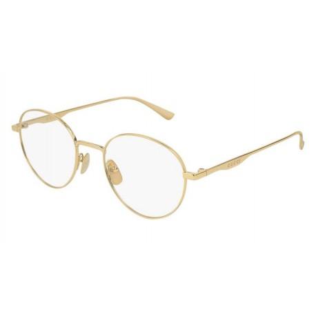 Gucci Logo GG0337O 001   Óculos de Prescrição eff6d28944