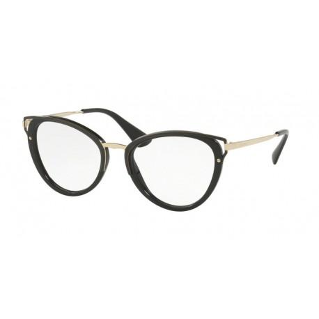 Prada PR 53UV 1AB1O1   Óculos de Prescrição 0f81105a0c