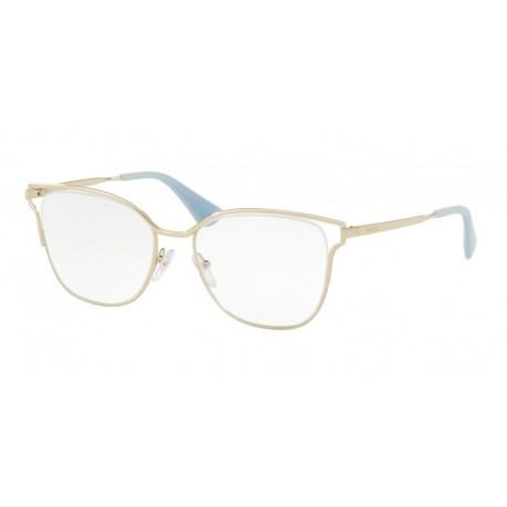 Prada PR 54UV ZVN1O1   Óculos de Prescrição fde20fc21e