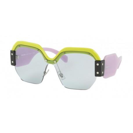 dcf85e6dd Miu Miu MU 09SS VIV4Q2   Óculos de Sol